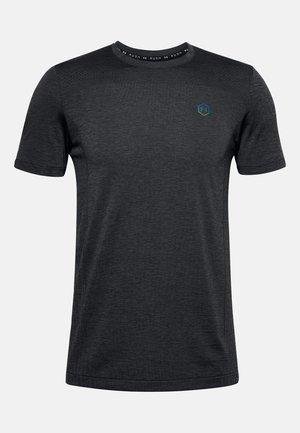 HERREN RUSH SEAMLESS - Sports shirt - black