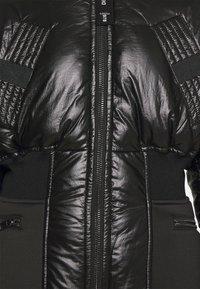 Diesel - W-ISOKE-SHINY - Winter jacket - black - 5