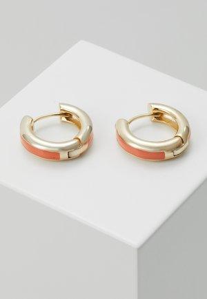 Øreringe - gold-coloured/orange