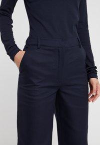 DESIGNERS REMIX - LETTA PANTS - Pantalon classique - navy - 3