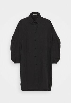 MOMENT DRESS - Shirt dress - black