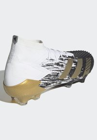 adidas Performance - FOOTBALL FIRM GROUND - Moulded stud football boots - ftwwht/goldmt/cblack - 4