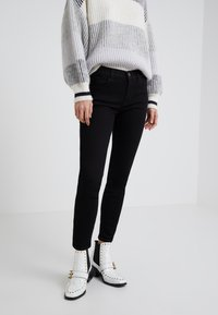 Current/Elliott - THE STILETTO - Jeans Skinny Fit -  clean stretch black - 0