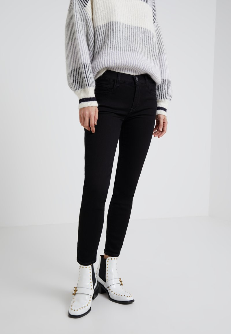 Current/Elliott - THE STILETTO - Jeans Skinny Fit -  clean stretch black