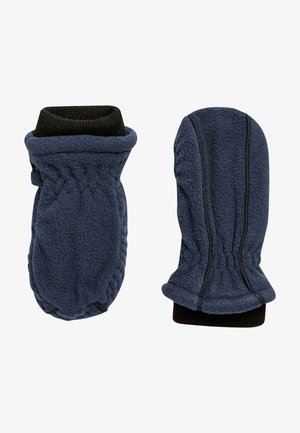 Fingerless gloves - blue