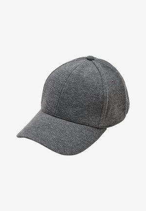 Cap - black melange