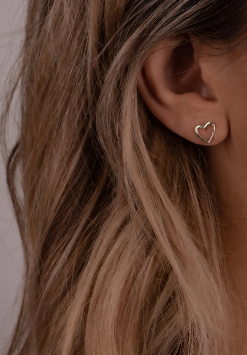 Glanzstücke München - GLOSSY SYMBOLS CLASSICS - Earrings - silber