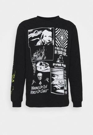BITS OF BRAIN - Long sleeved top - black