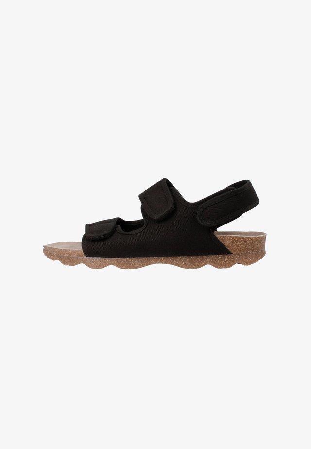 Sandali da trekking - schwarz