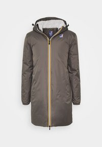 K-Way - UNISEX LE VRAI EIFFEL ORSETTO - Parka - grey smoke - 0