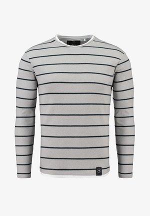 ORLANDO ROUND - Sweter - silver