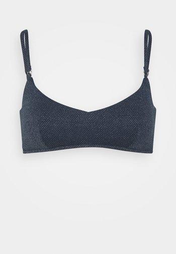 STARDUST TANK - Bikini top - indigo
