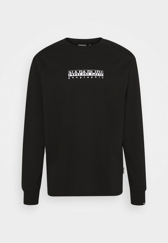 BOX UNISEX - Longsleeve - black