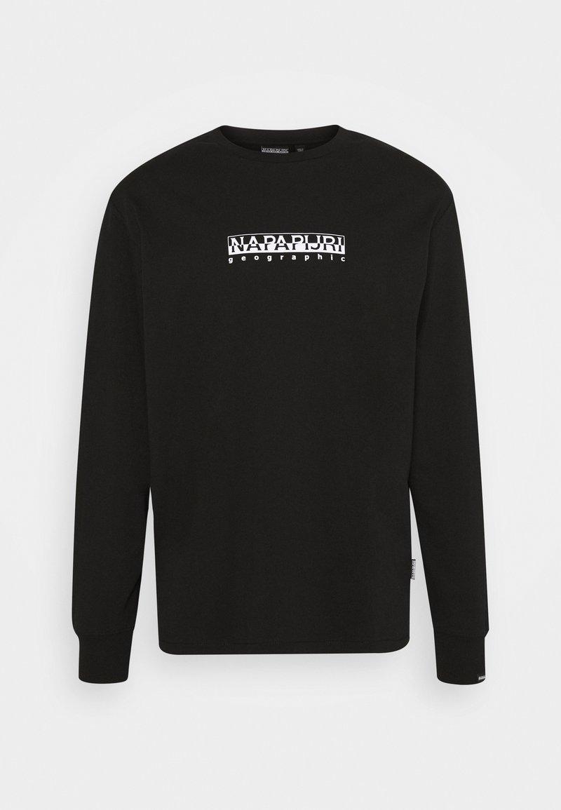 Napapijri The Tribe - BOX UNISEX - Långärmad tröja - black