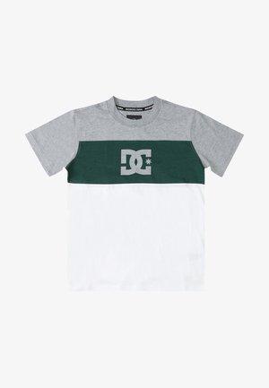 GLEN END - Print T-shirt - white