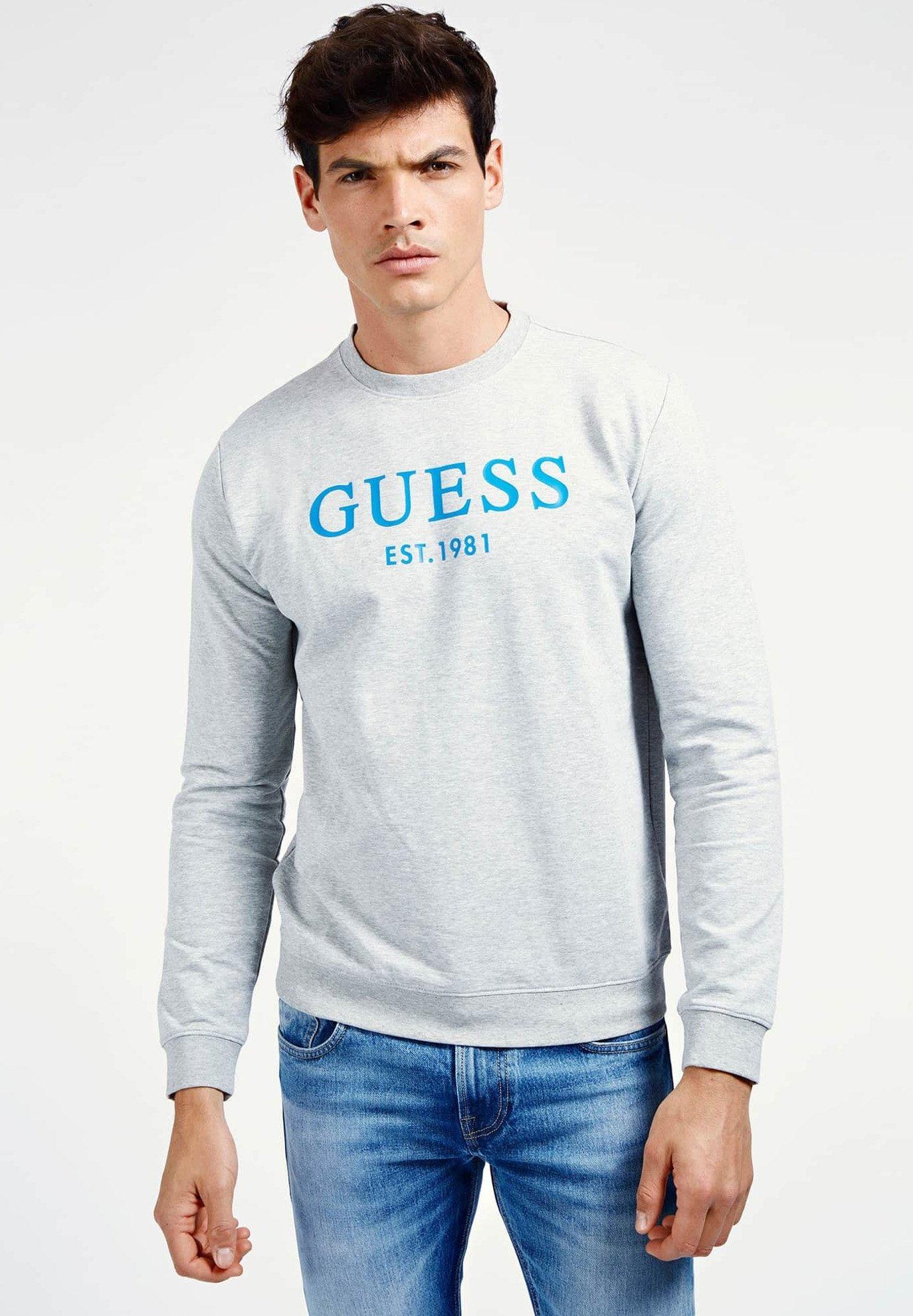 Guess Sweatshirt hellgrau Zalando.at