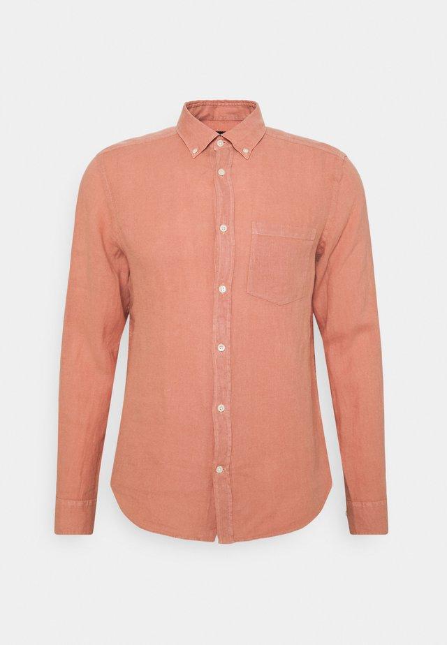CLEAN SLIM - Overhemd - rose coppar