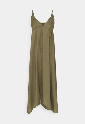 HANKERCHIEF DRESS - Denní šaty - frosty olive