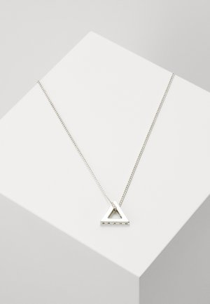 POINT NECKLACE - Kaulakoru - silver-coloured