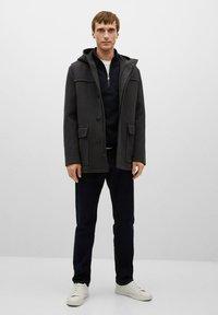 Mango - MEDINA - Classic coat - středně šedá vigore - 1