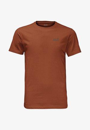 Print T-shirt - copper