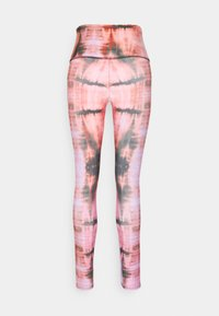 Onzie - HIGH RISE GRAPHIC MIDI - Collants - red - 1