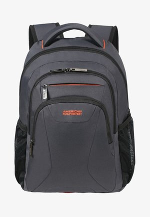 AT WORK - Rucksack - grey/orange