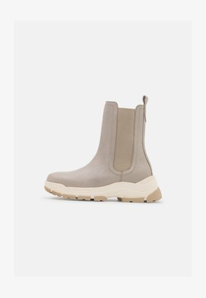 MAIA  - Kotníkové boty na platformě - taupe