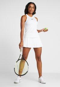 Nike Performance - DRY TANK - Treningsskjorter - white/black - 1