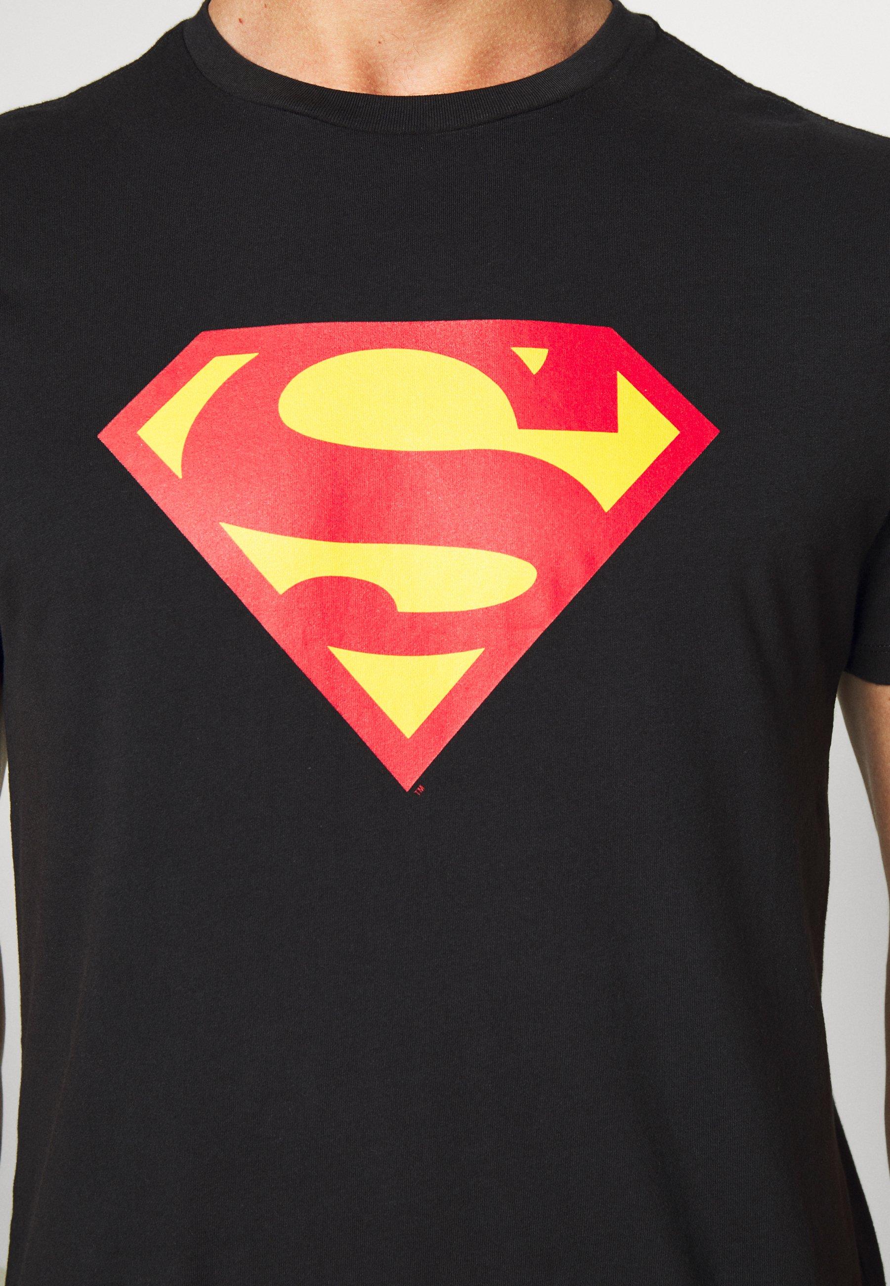 GAP SUPERMAN - Print T-shirt - moonless night Pa96O