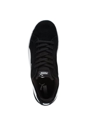 PUMA SMASH SUEDE TRAINERS MAN - Sneakers - black