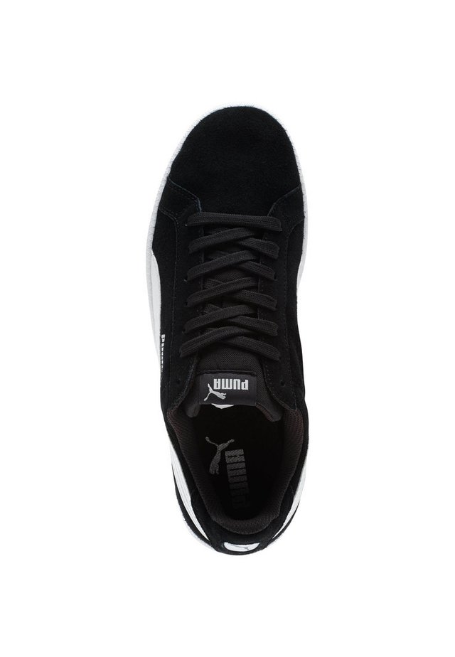 PUMA SMASH SUEDE TRAINERS MAN - Baskets basses - black