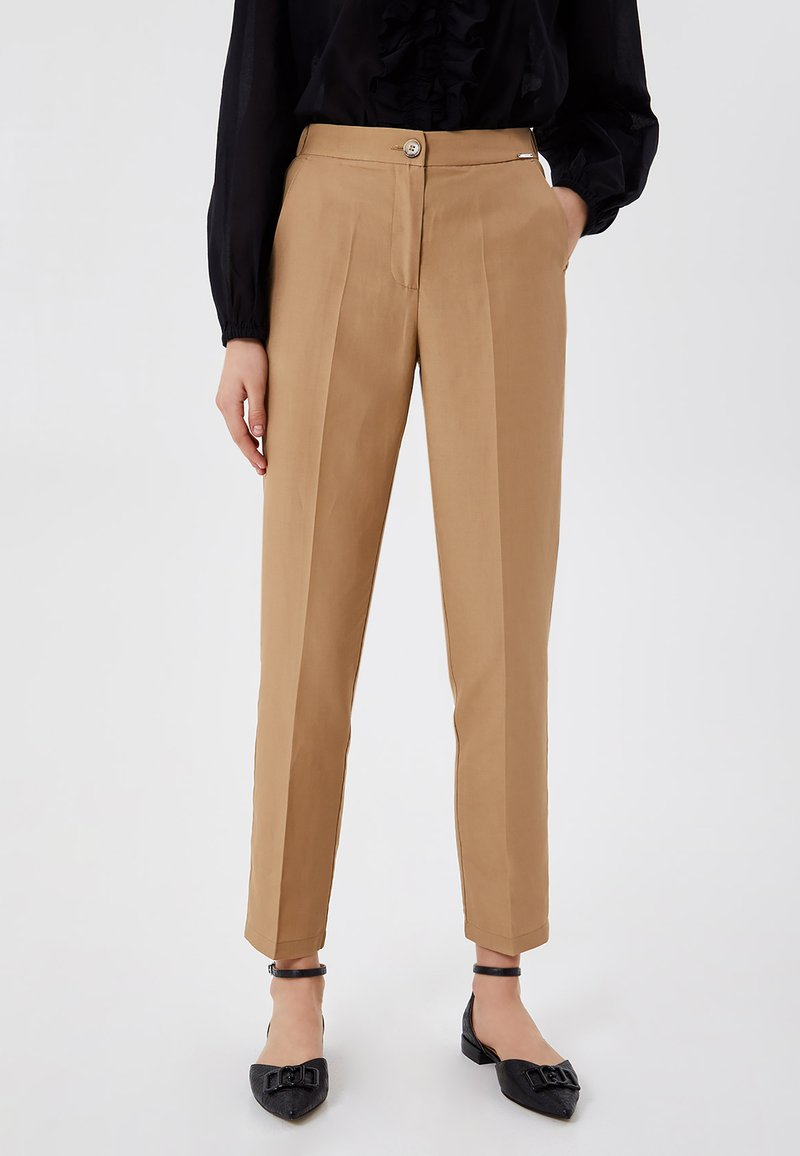 LIU JO - Trousers - light brown