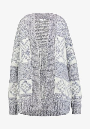 FAIRISLE OPEN - Cardigan - vintage haze