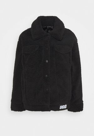 FRANKIE SHERPA TRUCKER JACKET - Winterjacke - black