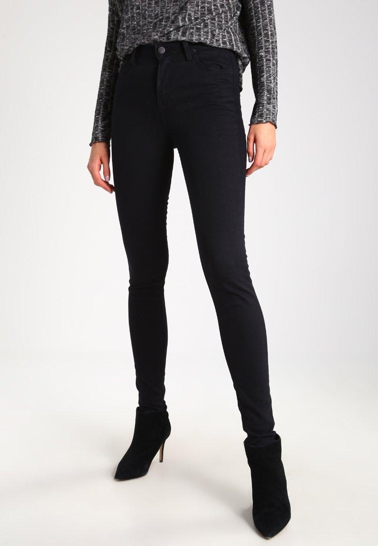 Lee - SCARLETT HIGH - Jeansy Skinny Fit - black rinse