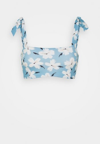 PACKO ISALIS - Bikini top - bleu