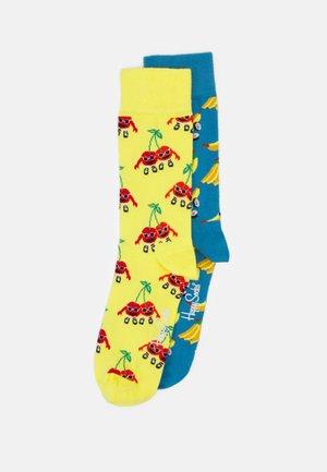 CHERRY MATES BANANA SUSHI 2 PACK UNISEX - Socks - multi