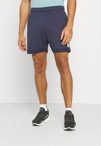 Fila - NOLAN SHORTS CROPPED - Sports shorts - black iris - 0