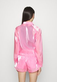 Nike Sportswear - AIR SHEEN - Summer jacket - pink glow/black - 2