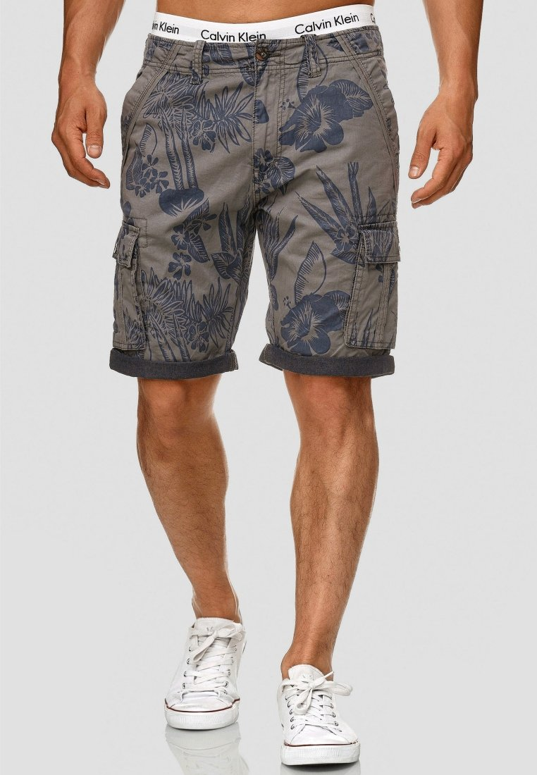 INDICODE JEANS - ALBERT - Shorts - light gray