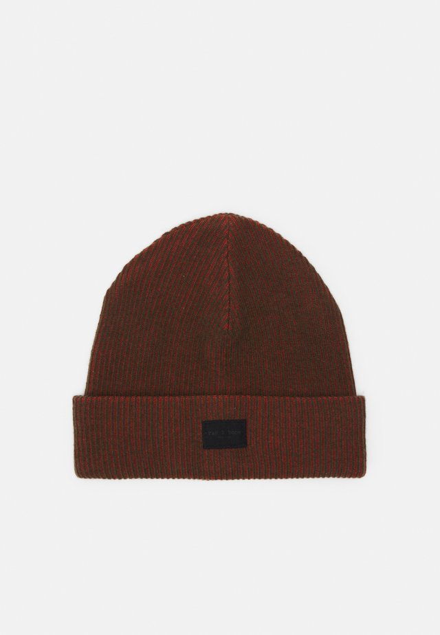 FINCH BEANIE UNISEX - Muts - red/green