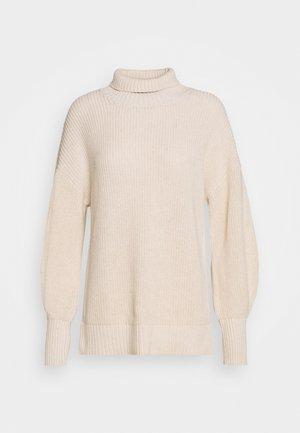 SCARLETT - Stickad tröja - egg white
