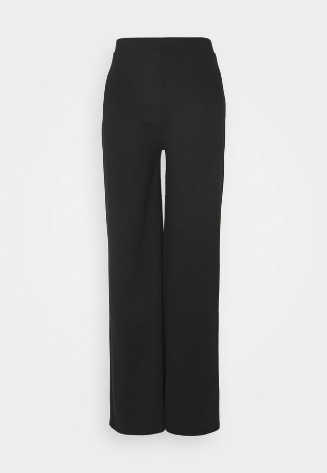 ONLFEVER WIDE PANTS - Stoffhose - black