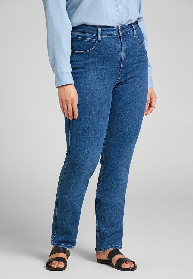Straight leg jeans - royal blue