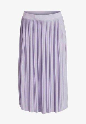 FALTENDETAIL - Pleated skirt - lavender