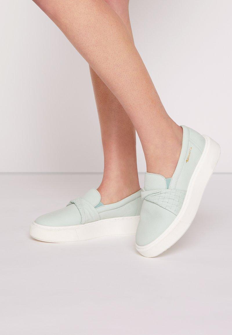 Tamaris - Slip-ons - mint