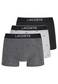 Lacoste - 3 PACK - Shorty - black/pitch chine-silver chine - 0