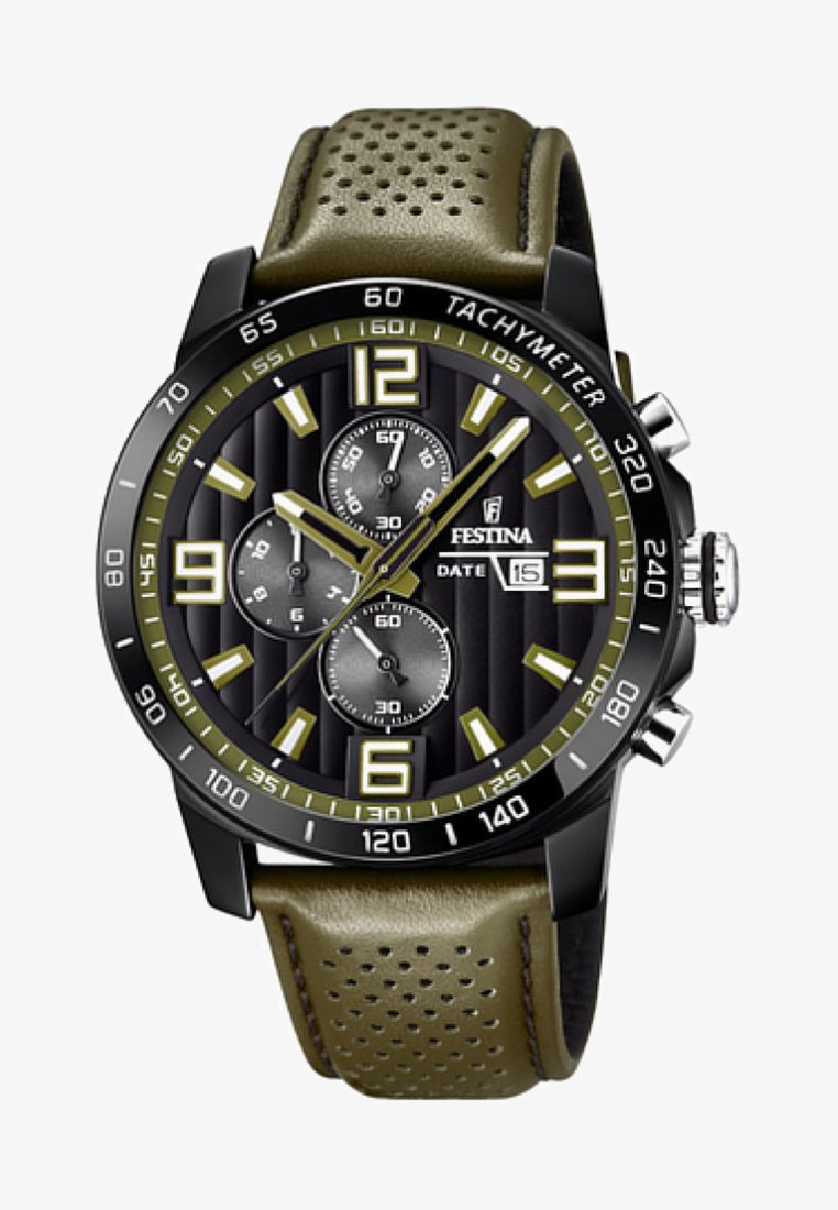 Festina - Chronograph watch - green