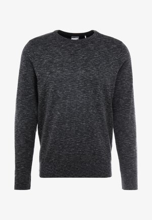 CREWNECK - Neule - black heather